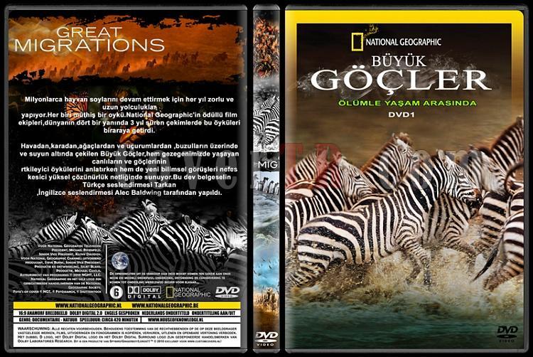 Great Migrations (Büyük Göçler) - Custom Dvd Cover Set - Türkçe [2010]-1jpg