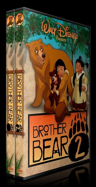 Brother Bear (Ayı Kardeş) - Custom Dvd Cover Set - English [2003-2006]-ajpg
