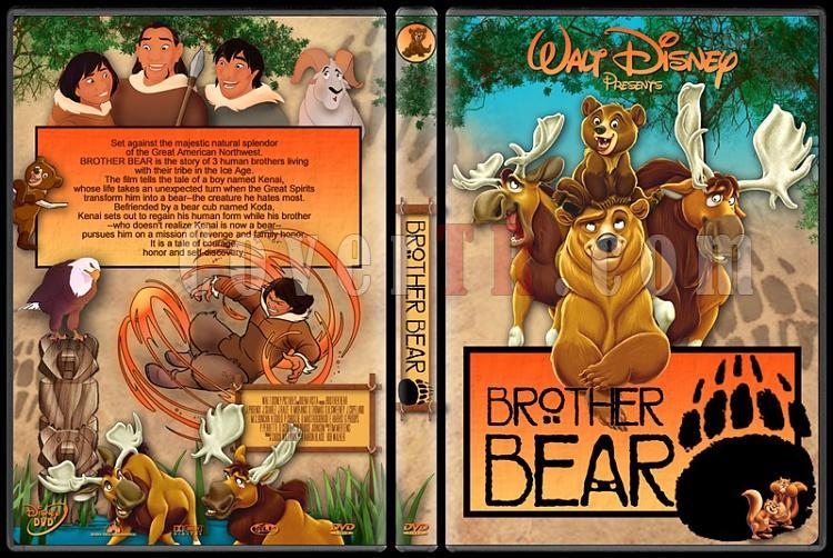 Brother Bear (Ayı Kardeş) - Custom Dvd Cover Set - English [2003-2006]-1jpg