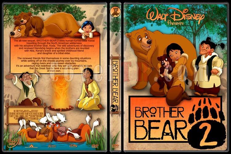 Brother Bear (Ayı Kardeş) - Custom Dvd Cover Set - English [2003-2006]-2jpg