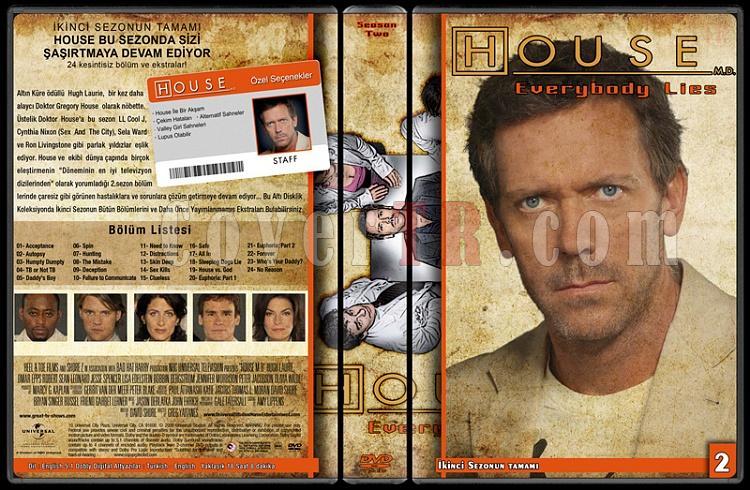 House M.D. (All Seasons) - Custom Dvd Cover Set - Türkçe [2004-2012]-2jpg