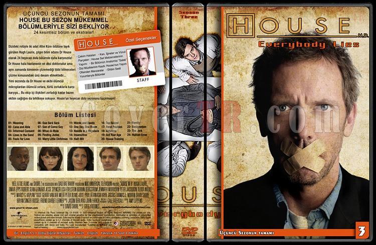 House M.D. (All Seasons) - Custom Dvd Cover Set - Türkçe [2004-2012]-3jpg