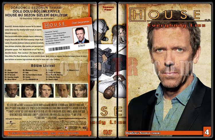 House M.D. (All Seasons) - Custom Dvd Cover Set - Türkçe [2004-2012]-4jpg