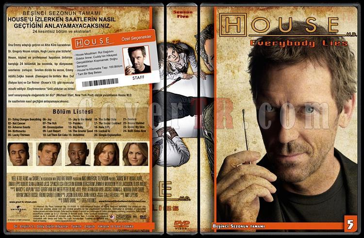 House M.D. (All Seasons) - Custom Dvd Cover Set - Türkçe [2004-2012]-5jpg