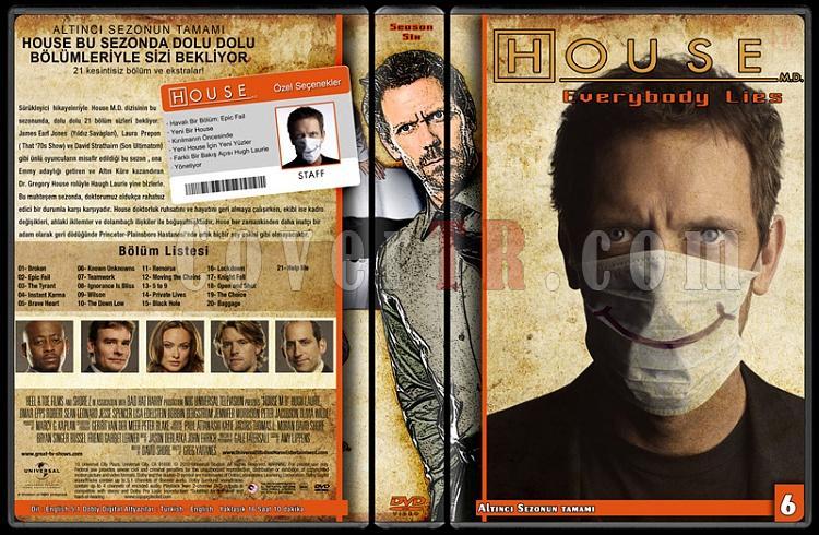 House M.D. (All Seasons) - Custom Dvd Cover Set - Türkçe [2004-2012]-6jpg