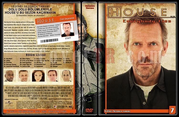 House M.D. (All Seasons) - Custom Dvd Cover Set - Türkçe [2004-2012]-7jpg