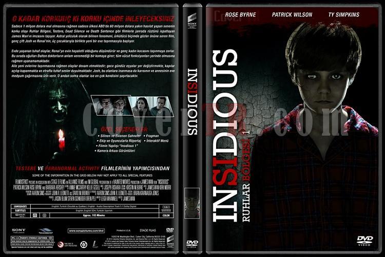 Insidious Collection (Ruhlar Bölgesi Koleksiyonu) - Custom Dvd Cover Set - Türkçe [2010-2013]-1jpg