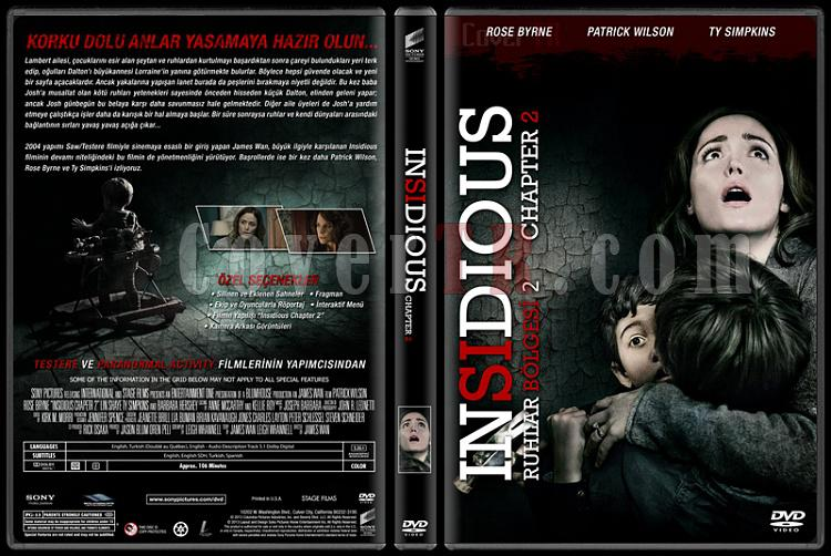 Insidious Collection (Ruhlar Bölgesi Koleksiyonu) - Custom Dvd Cover Set - Türkçe [2010-2013]-2jpg
