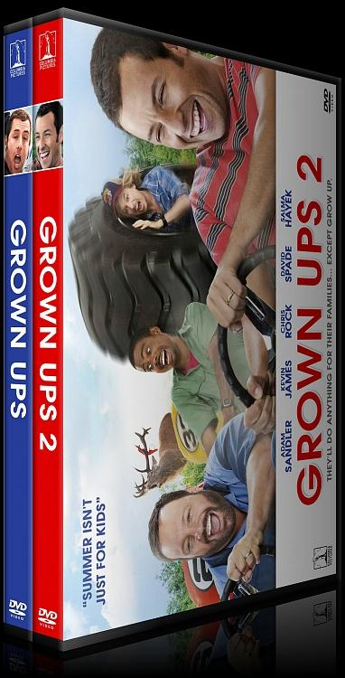 Grown Ups Collection (Büyükler Koleksiyonu) - Custom Dvd Cover Set - English [2010]-izlemejpg