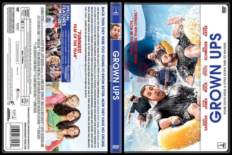 Grown Ups Collection (Büyükler Koleksiyonu) - Custom Dvd Cover Set - English [2010]-grown-ups-buyukler-dvd-cover-english-riddick-izlemejpg