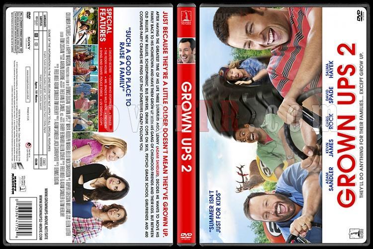 Grown Ups Collection (Büyükler Koleksiyonu) - Custom Dvd Cover Set - English [2010]-grown-ups-2-buyukler-2-dvd-cover-english-riddick-izlemejpg
