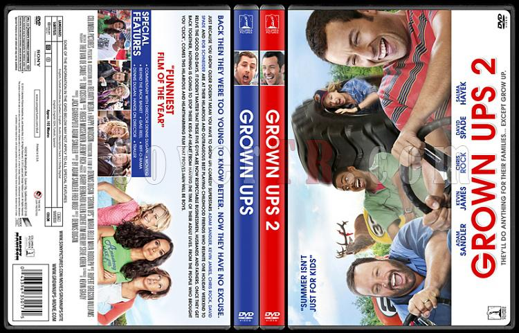 Grown Ups Collection (Büyükler Koleksiyonu) - Custom Dvd Cover Set - English [2010]-izleme-2jpg