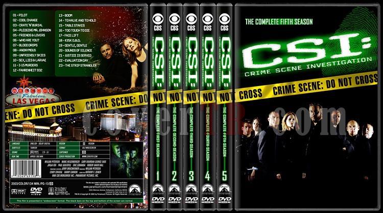 CSI: Crime Scene Investigation (Seasons 1-13) - Custom Dvd Cover Set - English [2000-?]-1-5jpg