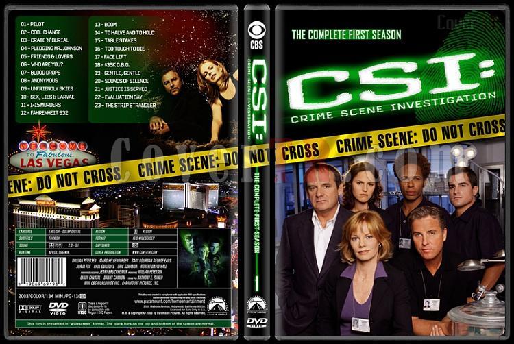 CSI: Crime Scene Investigation (Seasons 1-13) - Custom Dvd Cover Set - English [2000-?]-1jpg