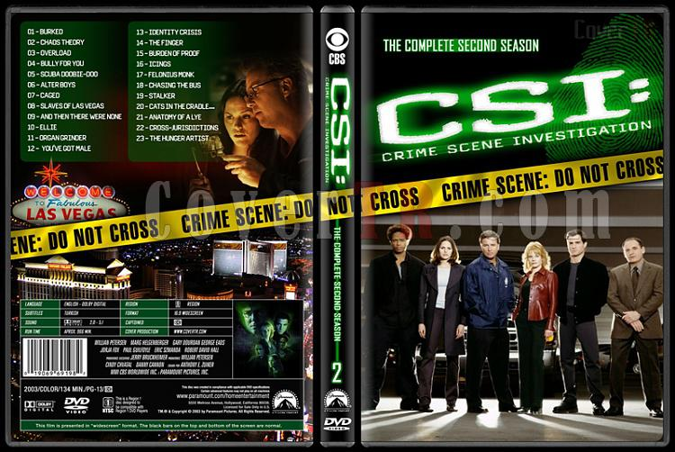 CSI: Crime Scene Investigation (Seasons 1-13) - Custom Dvd Cover Set - English [2000-?]-2jpg