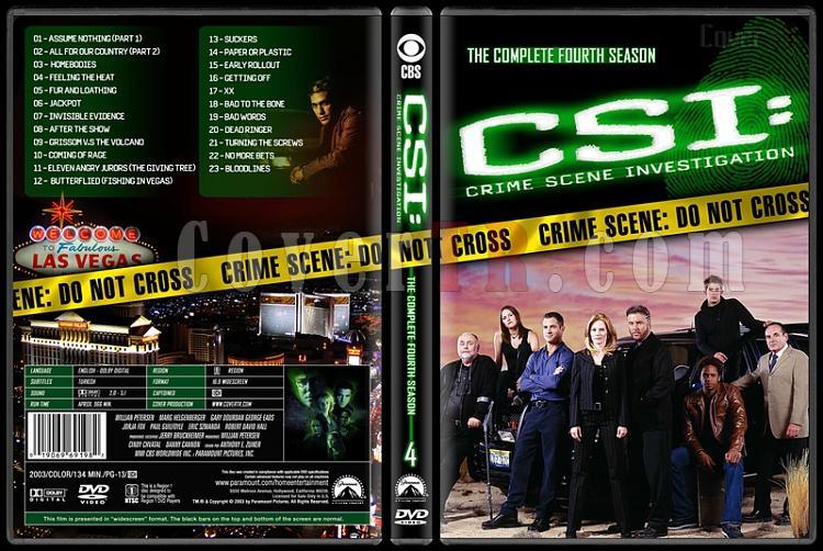 CSI: Crime Scene Investigation (Seasons 1-13) - Custom Dvd Cover Set - English [2000-?]-4jpg