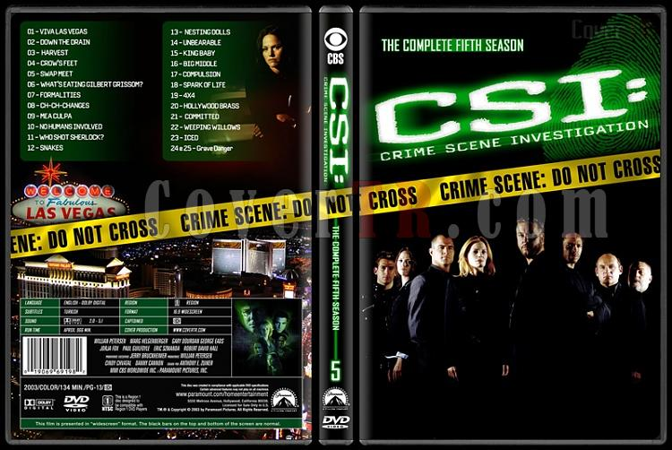 CSI: Crime Scene Investigation (Seasons 1-13) - Custom Dvd Cover Set - English [2000-?]-5jpg