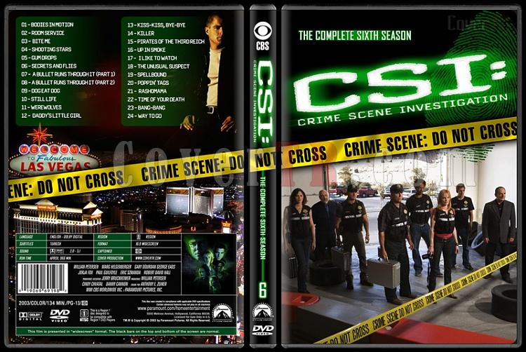CSI: Crime Scene Investigation (Seasons 1-13) - Custom Dvd Cover Set - English [2000-?]-6jpg