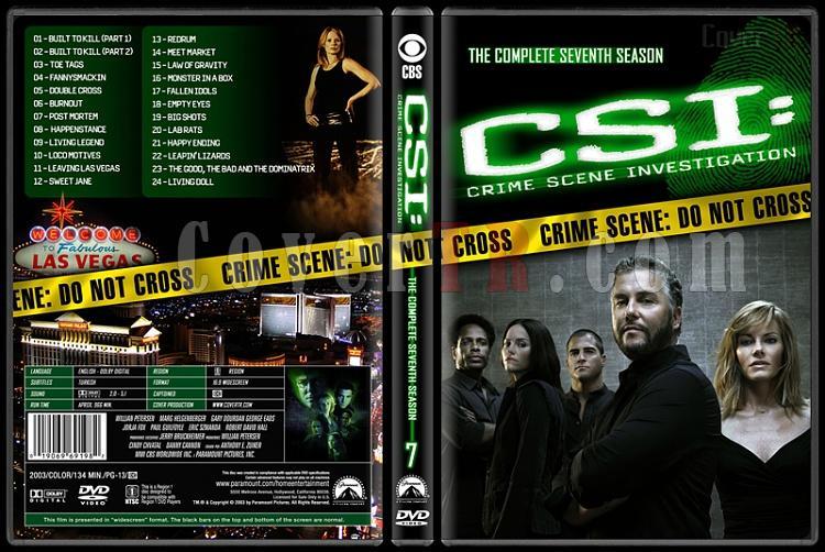 CSI: Crime Scene Investigation (Seasons 1-13) - Custom Dvd Cover Set - English [2000-?]-7jpg