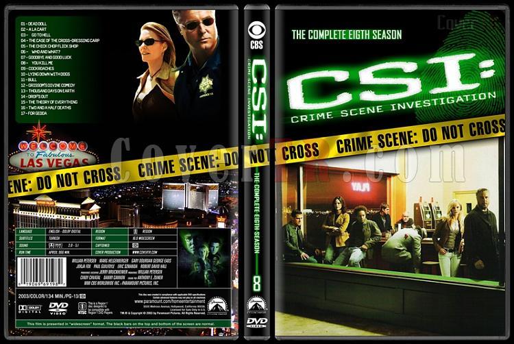 CSI: Crime Scene Investigation (Seasons 1-13) - Custom Dvd Cover Set - English [2000-?]-8jpg