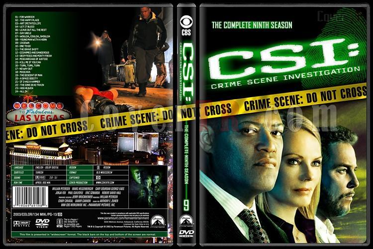 CSI: Crime Scene Investigation (Seasons 1-13) - Custom Dvd Cover Set - English [2000-?]-9jpg