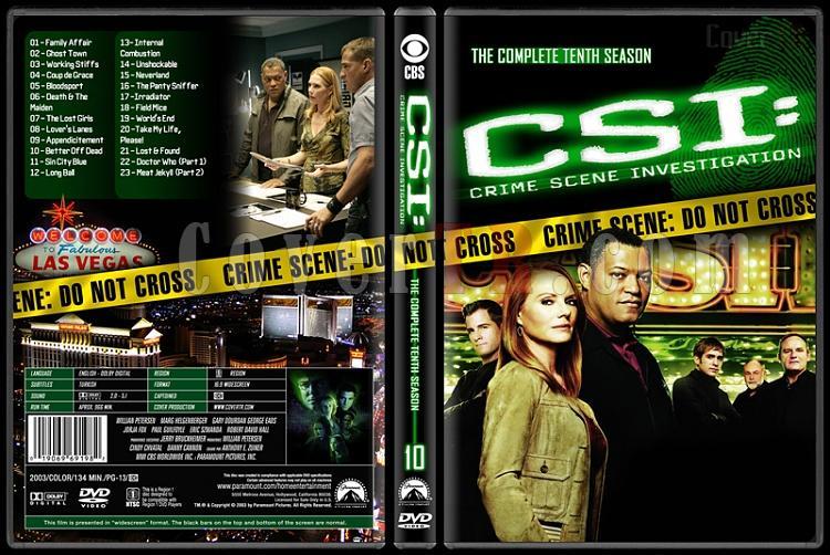 CSI: Crime Scene Investigation (Seasons 1-13) - Custom Dvd Cover Set - English [2000-?]-10jpg