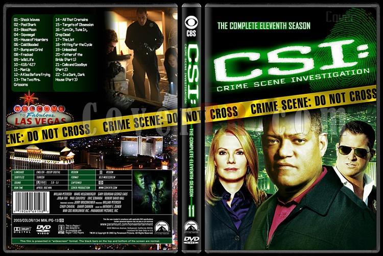 CSI: Crime Scene Investigation (Seasons 1-13) - Custom Dvd Cover Set - English [2000-?]-11jpg