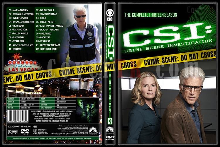 CSI: Crime Scene Investigation (Seasons 1-13) - Custom Dvd Cover Set - English [2000-?]-13jpg