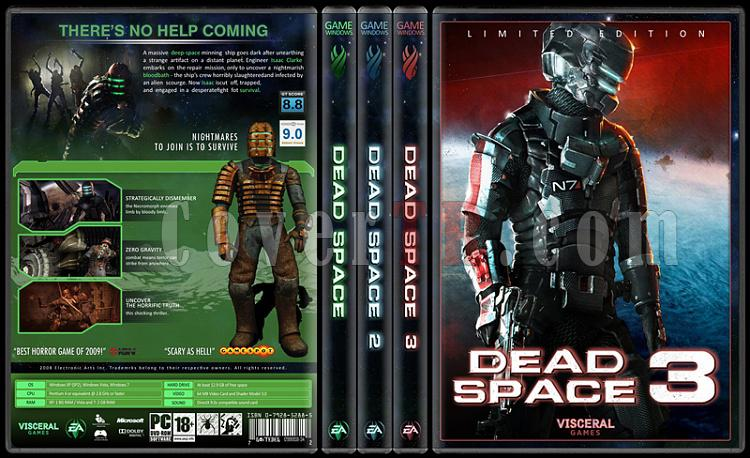 Dead Space - Custom Dvd Cover Set - English [2008-2012]-standard-3-season-flatjpg