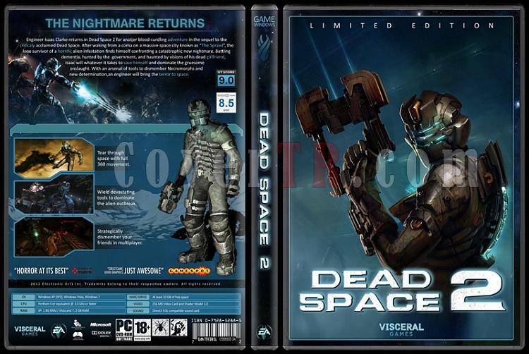 Dead Space - Custom Dvd Cover Set - English [2008-2012]-2jpg