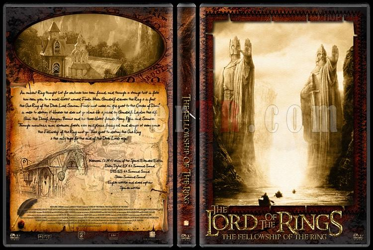 The Lord of the Rings (Yüzüklerin Efendisi) - Custom Dvd Cover Set - English-1jpg