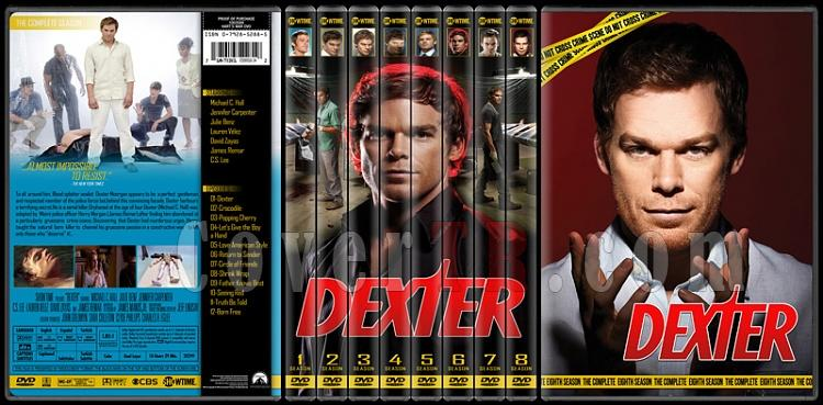 Dexter (Seasons 1-8) - Custom Dvd Cover Set - English [2006 - 2013]-standard-8-season-flatjpg