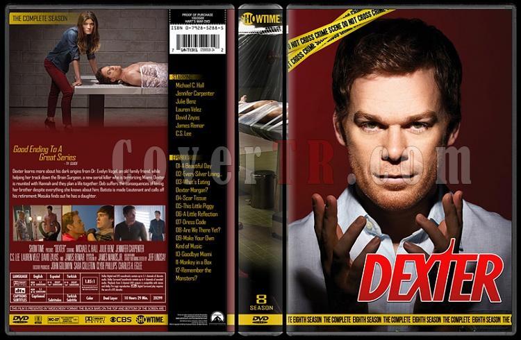Dexter (Seasons 1-8) - Custom Dvd Cover Set - English [2006 - ? ]-thin6jpg