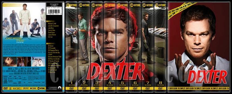 Dexter (Seasons 1-8) - Custom Dvd Cover Set - English [2006 - ? ]-8-season-flatjpg