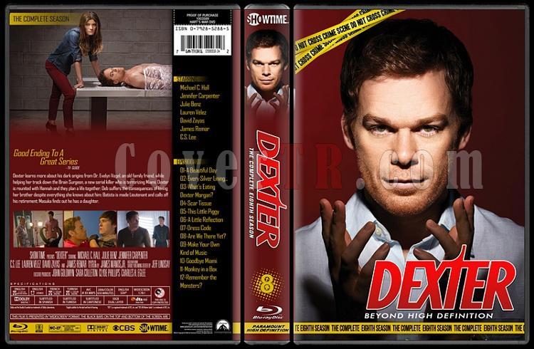 Dexter (Seasons 1-8) - Custom Bluray Cover Set - English [2006 - ? ]-bbfcbjpg