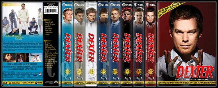 Dexter (Seasons 1-8) - Custom Bluray Cover Set - English [2006 - ? ]-8-season-flat2jpg