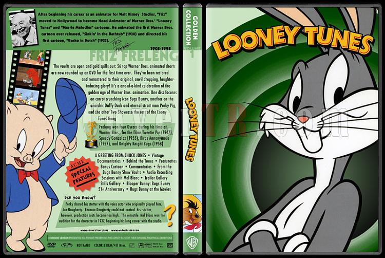 Loney Tunes-Golden Collection - Custom Dvd Cover - English [1985]-02jpg