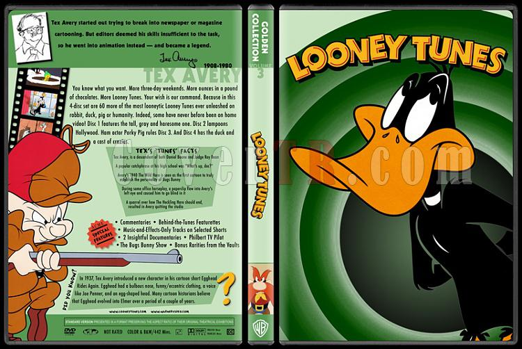 Loney Tunes-Golden Collection - Custom Dvd Cover - English [1985]-04jpg