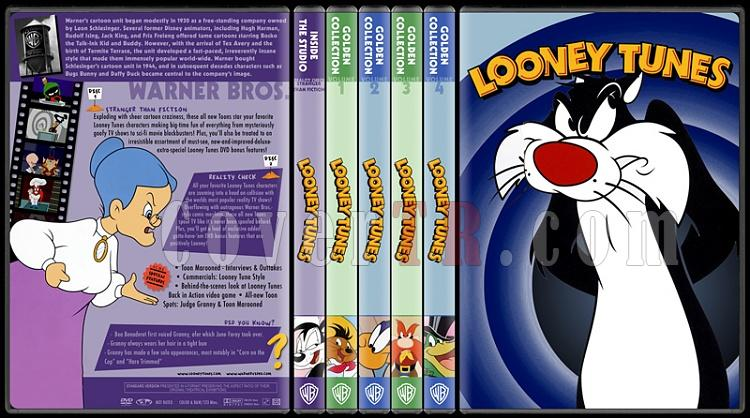 Loney Tunes-Golden Collection - Custom Dvd Cover - English [1985]-standard-5-season-flat0jpg
