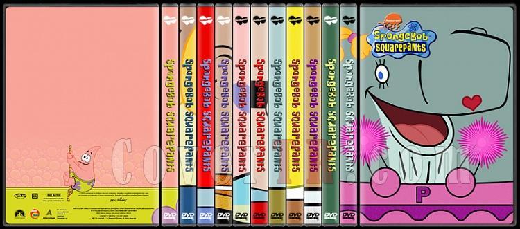 SpongeBob SquarePants (SüngerBob KareŞort) - Custom Dvd Cover Set - English [1999-?]-standard-11-season-flatjpg