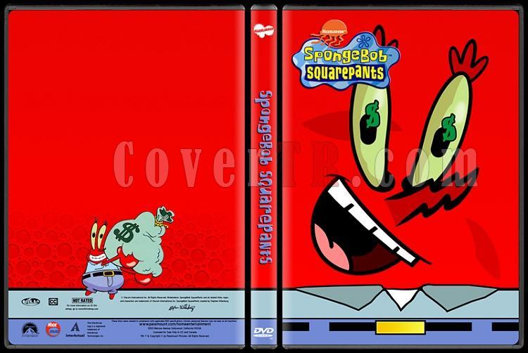 SpongeBob SquarePants (SüngerBob KareŞort) - Custom Dvd Cover Set - English [1999-?]-mr-krabsjpg