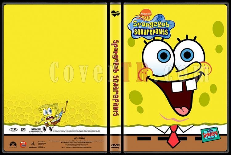 SpongeBob SquarePants (SüngerBob KareŞort) - Custom Dvd Cover Set - English [1999-?]-spongebobjpg