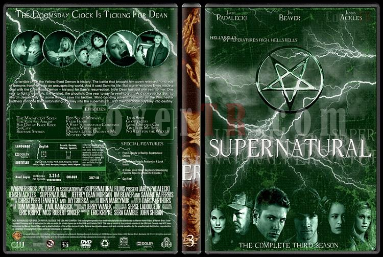 Supernatural (Seasons 1-8) - Custom Dvd Cover Set - English [2005-?]-3jpg