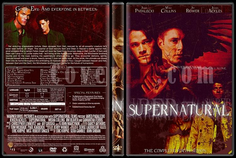 Supernatural (Seasons 1-8) - Custom Dvd Cover Set - English [2005-?]-4jpg