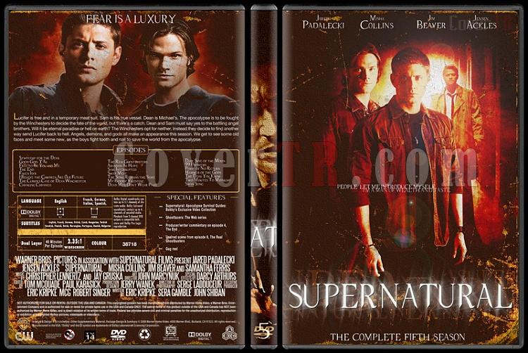 Supernatural (Seasons 1-8) - Custom Dvd Cover Set - English [2005-?]-5jpg