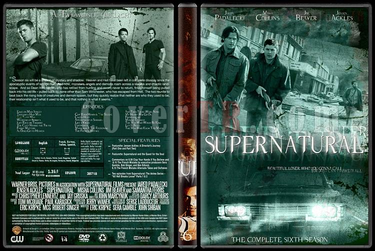 Supernatural (Seasons 1-8) - Custom Dvd Cover Set - English [2005-?]-6jpg