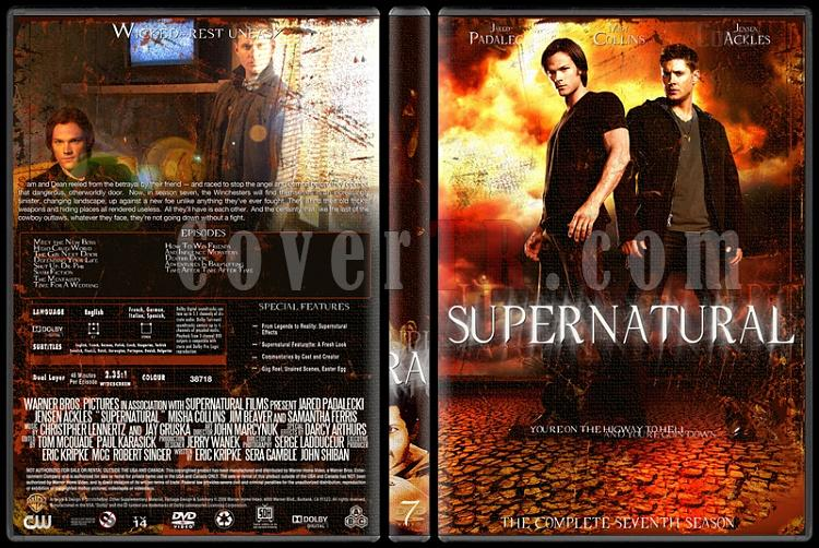 Supernatural (Seasons 1-8) - Custom Dvd Cover Set - English [2005-?]-7jpg