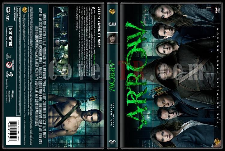 Arrow (Seasons 1-3) - Custom Dvd Cover Set - English [2012-?]-arrow-season-1jpg