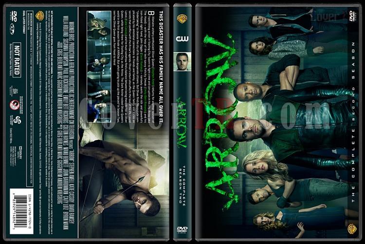 Arrow (Seasons 1-3) - Custom Dvd Cover Set - English [2012-?]-arrow-season-2jpg