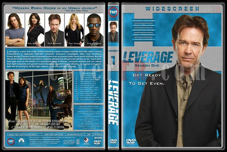 Leverage (Seasons 1-5) - Custom Dvd Cover Set - English [2008-?]-1jpg